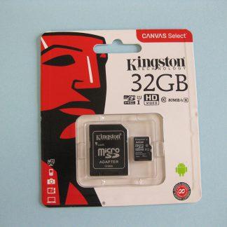 Micro SD kaart 32 GB