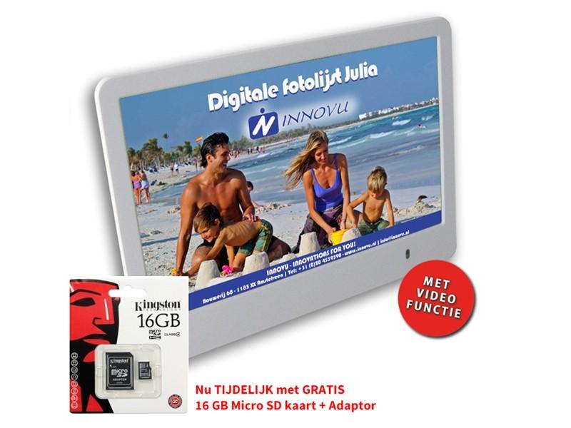 digitale fotolijst julia