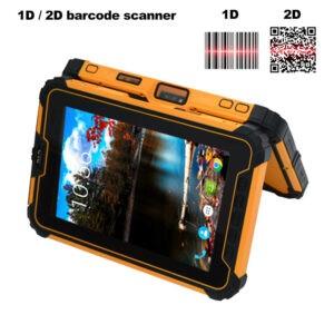 Rocky II - Ruggedized Tablet 1D en 2D scanner